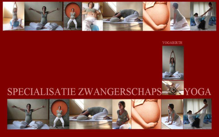 Zwangerschapsyoga en opleiding